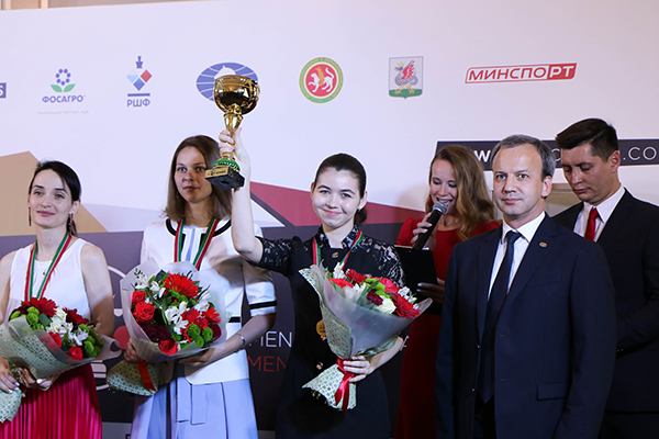 The Closing Ceremony of FIDE Women's Candidates Tournament